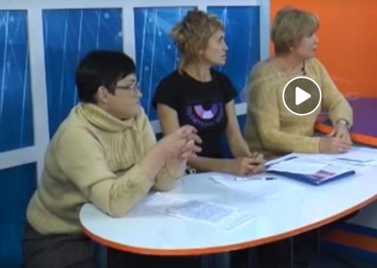 Участь активістки ВО ВОНА Олени Курлат у телепередачі до Міжнародного дня захисту прав людини
